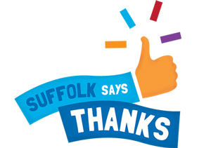 Suffolk Says Thanks logo