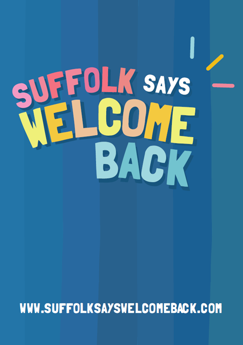 Suffolk Says Welcome Back Poster 1